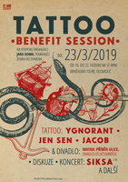 Benefit Tattoo session - benefit pro Jako Doma