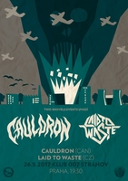 CAULDRON (can) + LAID TO WASTE (cz)