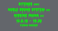 Ditches (SWE) / Nusle Sound System / Hissing Fauna