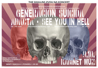 GENERACION SUICIDA (USA) + ADACTA (SK) + SEE YOU IN HELL