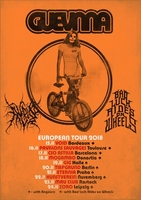 GUEVNNA (Jap) + BAD LUCK RIDES ON WHEELS (DE)