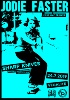 Jodie Faster × Sharp Knives