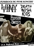 Komplex Viny, Death Wish Kids, Poison Sweets