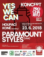 Koncert pro charitu YES WE CAN: PARAMOUNT STYLES (USA)