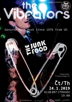 The Vibrators (UK) + The Junk Food (CZ)