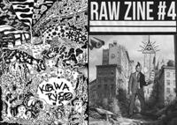 KAWAKAMIHO RÝŽE #5 / RAW ZINE #4 – split zine